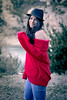 Marta H ®BoniGonzález-14 (boni_villasirga) Tags: retrato portrait ritratto chica girl woman mujer fashion moda outfit beauty rojo red negro black huesca aragón vadiello españa spain