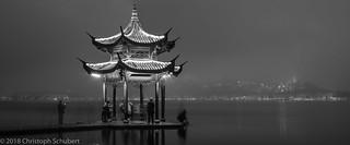 Jixian pavilion panorama