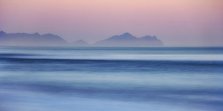 Dawn Breaks Over Vestrahorn, Hofn, Iceland