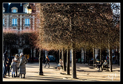 Place des Vosges - Paris III et IV (christian_lemale) Tags: place vosges placedesvosges paris iii iv france nikon d7100