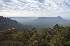 Blue Mountains (syf22) Tags: australia sydney newsouthwales bluemountains nationalpark nature panoramic view open space sandstone trails bushland mountains threesisters