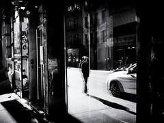 Seeing Double (Feldore) Tags: newyork chinatown man reflection strange double street feldore mchugh em1 olympus 17mm 18 window glass reflected walking