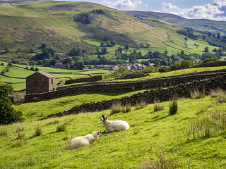 Muker in Swaledale, Yorkshire Dales
