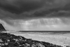 Storm (jdelrivero) Tags: gorrondatxe mar paisaje geologia sunset rocas costa elementos olas provincia atardecer bizkaia playa geology beach elements landscape puestadesol sea guecho euskadi españa es