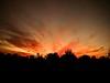 Fire Sky (DirtyBootPrints) Tags: art sky sunset beautiful cal californiasunset california horizon hike mountains desert explore adventure
