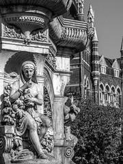 LR Mumbai 2015-550 (hunbille) Tags: birgittemumbai5lr india mumbai bombay fort hutatma chowk martyrs square martyrssquare flora fountain florafountain statue