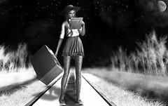 The Journey (Isabella Rumsford) Tags: mesh body maitreya head catya bento skin ysys kitty april 2017 powder pack hair exile break rules outfit 'dami' give me your heart sneakers reign arianna valentines day edition group gift tights big beautiful doll nylon polka dot choker lika meilli necklace with studs