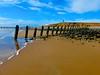 Beach on Walney Island (Coalboater) Tags: sand beach sea barrowinfurness walney groins bluesky