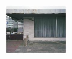 ** (ha*voc) Tags: mamiya7ii rangefinder film 120 mediumformat 6x7 fujipro400h urban urbandecay urbanentropy entropy zandvoort mundane banal empty silence