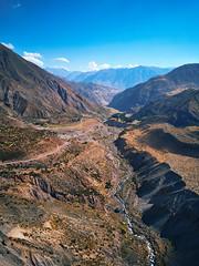 Cajón del Maipo (deensel) Tags: canyon cajon chile santiago maipo drone aerial mavicpro