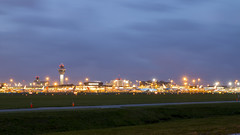 Good morning Schiphol (HansPermana) Tags: schiphol amsterdam netherlands nederland holland airport international airplane bluehour longexposure niederlande flughafen