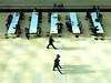 The Great Court, London England (duaneschermerhorn) Tags: people person man woman men women open seated sitting walking shadows