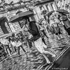 Umbrellas on the Royal Mile (FotoFling Scotland) Tags: 2015 arts edinburgh edinburghfestivalfringe royalmile august highstreet performer promotion rain streetperformer streettheatre umbrella fotoflingscotland