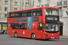 LJ17 WRT (MV38213) Tower Transit (hotspur_star) Tags: londontransport londonbuses londonbus londonbuses2018 mcvvolvoevoseti tfl transportforlondon hybridbus hybridtechnology busscene2018 doubledeck towertransit lj17wrt mv38213 13