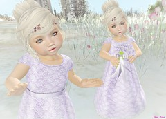 #Hanta Lace Gown (Sye Rose) Tags: hanta trunkshow wedding event secondlife designer second td toddleedoo byhanta outfit gown lace ikon kids kid life skin girl fashion flowergirl dress sl shape child badseed