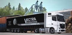 Mercedes Actros MP4 - Vectra International [ETS2] (gripshotz) Tags: mercedes actros mp4 vectra international romania krone trailer euro truck simulator ets 2