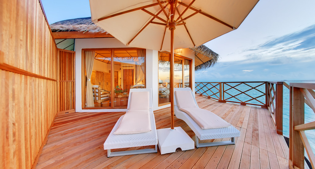 Superior Water Bungalow - Terrace