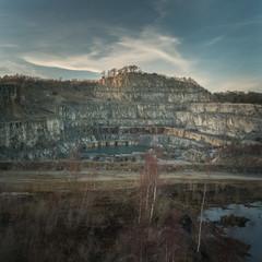 Quaried (Photo Lab by Ross Farnham) Tags: derbyshire landscape ross farnham sony a7rii 2470mm f4 zeiss quarry wirksworth rocks trees disused