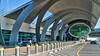 Dubai, United Arab Emirates: Curbside Terminal 3 at Dubai International Airport (nabobswims) Tags: ae airport dubai hdr highdynamicrange ilce6000 lightroom nabob nabobswims photomatix sel18105g sonya6000 terminal3 uae unitedarabemirates