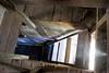 light leak (Super G) Tags: nikon237 abandoned bankbarn wood ladder light leak building 2018 color