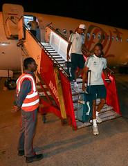 Desembarque em Barranquilla (28/02/2018) (sepalmeiras) Tags: keno antoniocarlos aeroportointernacionalernestocortissoz palmeiras sep desembarque
