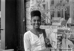 Mother of this Earth (Zaahir Muhammad) Tags: blackwoman queen mother style fashion brooklyn streetphotography sister blackhair hightopfade 1990s streetstyle beauty