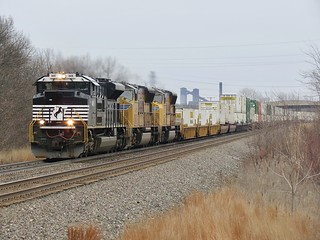 Norfolk Southern Chicago Line / MP 488 West