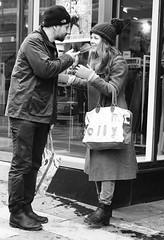 Couple (daniel.gogberg) Tags: couple street streetlife streets fuji fujixpro2 fujixpro fujifilm fujinon xpro2 xpro bw blackwhite blackandwhite monochrome sverige sv svartvitt sweden
