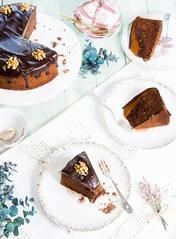 Tarta de chocolate y dulce de leche (Frabisa) Tags: cocinacasera comida recetas cocinasaludable bizcocho chocolate dulcedeleche delicioso almendras homemadecooking food recipes healthycooking spongecake delicious almonds