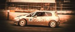 'No Damage Run' Fail (polyneutron) Tags: photography fiat rally motorsport dirt mcrae pc automotive colorful motion dark