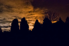 2018-01-11 (Day 011) The Sky Over The Graveyard