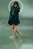 La diosa de las hormigas (Kathy Chareun) Tags: story historia art arte ps photoshop lightroom lr woman mujer femme girl chica green verde hood capa diosa goodess legs piernas autorretrato autoretrato selfportrait ants ant hormiga hormigas insectos insect water agua rainy rain luuvia lluvia hair pelo god godess