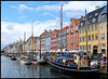 Nyhaven, Copenhagen. (Country Girl 76) Tags: copenhagen denmark nyhven harbour boats architecture buildings sky clouds colourful