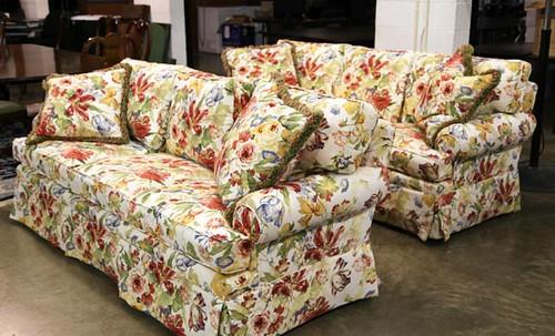 Pair Lexington Floral Sofas ($784.00)