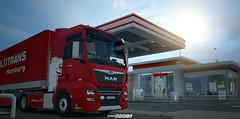 MAN TGX E6 XXL - GRiPTRANS WiP [ETS2] (gripshotz) Tags: man tgx xxl euro 6 madster grip trans truck simulator ets 2