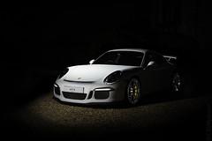 Porsche 991 GT3 CS Gen 1. (sfrancis23) Tags: d850 sb910 nikon nightphotography car gt3 porsche991gt3 clubsport gravel photoshop supercar sports blackbackground black white strobist wheels 2470mm