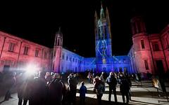 Spectra & Me.jpg (___INFINITY___) Tags: 2018 6d aberdeen godoxad360 marischalcollege architect architecture building canon canon1740f4 darrenwright dazza1040 eos fineart flash infinity light lightpainting magiclantern night scotland spectra strobist uk