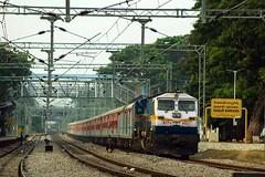 Rayalaseema Exp. (B V Ashok) Tags: rayalaseema superfast express 12794 nzbtpty nizamabadtirupati scr cavalrybarracks cvb gy gooty wdp4d 40221 emd flickrtravelaward