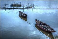 589- ESPERANDO LA HORA DE FAENAR- HOI AN - VIETNAM - (--MARCO POLO--) Tags: ciuadades exotismo asia atardeceres barcos curiosidades