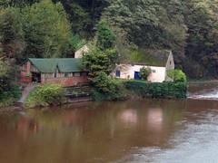 Riverside house Durham (saxonfenken) Tags: boathouse river wear durham house trees 6778house 6778 challengeyouwinner friendlychallenges tcf pregamewinner