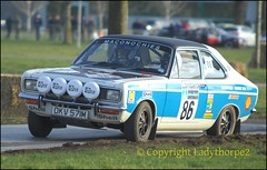 Race Retro Stoneleigh 25th Feb 2018  88 DHF_067200001 (ladythorpe2) Tags: paul hunter chrysler avenger hitman tiger roots group uk stoneleigh warwickshire blue white england