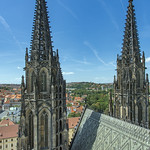 View from top of St. Vitus Cathedral thumbnail