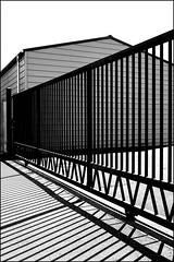 Lines' Orgy (Armin Fuchs) Tags: arminfuchs fence light shadow lines hff