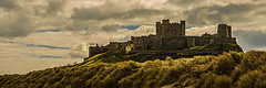 Bamburgh Castle Above The Dunes (Half A Century Of Photography) Tags: bamburgh castle northumberland england pentax pentaxkr pentaxdal
