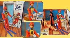 BIRTHDAY PRESENTS Part One (ModBarbieLover) Tags: ken doll barbie skier lodge mountains fashion 1975 1976 olympics mattel usa ski sports