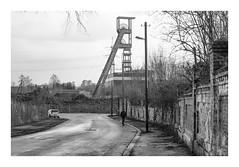 Das Ruhrgebiet (sw188) Tags: deutschland nrw ruhrgebiet essen sw stadtlandschaft street industrielandschaft industriegebiet bw blackandwhite