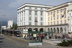 Brückenkopfgebäude Ost am Hauptplatz (Helgoland01) Tags: linz österreich oberösterreich linzlinien