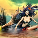 She Is a Mermaid But Approach Her With Caution,Her Mind Swims At A Depth Most Would Drown In thumbnail