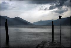 Lake colors (Ivano Di Benedetto) Tags: lago grigio grey lake mountain