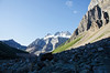 Out of the Shadows DSL3724 (iloleo) Tags: alberta banffnationalpark landscape canada mountains scree snow summer nature nikond7000 rocks scenic